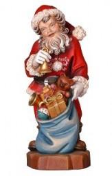 Weihnachtsmann Glocke 12 cm Color