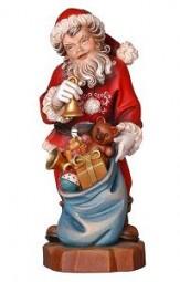 Weihnachtsmann Glocke 7 cm Natur
