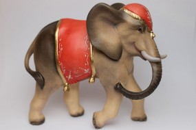 Elefant Bemalt