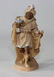 Heiliger König Mohr Krippenfigur Gebeizt (versch. Größen)