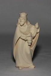 Heiliger König Stehend Krippenfigur Natur (versch. Größen)