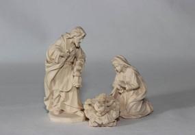 Heilige Famile Krippenfigur Natur