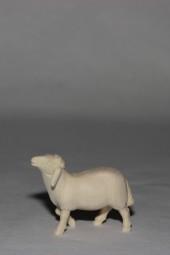 Schaf stehend Krippenfigur Natur