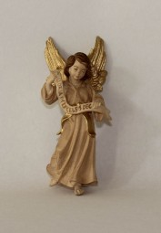 Gloriaengel Krippenfigur Gebeizt (versch. Größen)