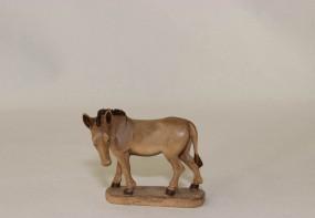 Esel Krippenfigur Gebeizt (versch. Größen)