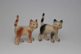Katze stehend Bemalt
