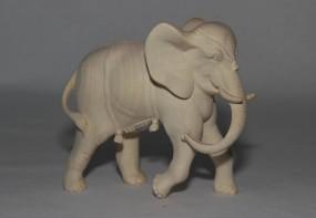 Elefant Krippenfigur Natur (versch. Größen)
